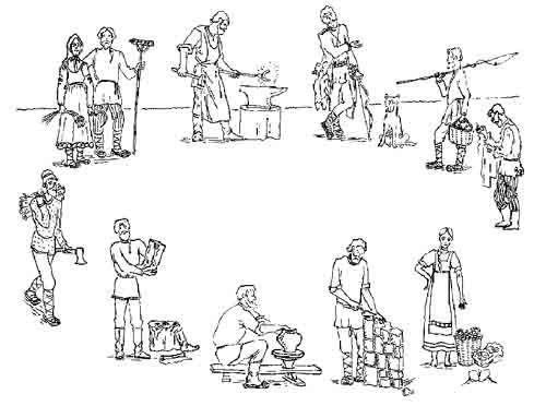 С какими явлениями связано общественное разделение труда